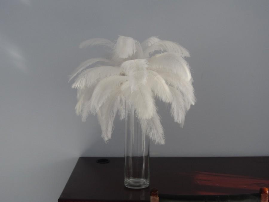 Discount item pcs ostrich feather for wedding table