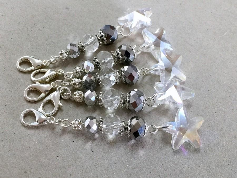 Crystal KeychainStar KeychainCrystal Star Wedding Favors