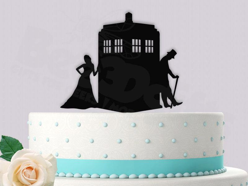 Dr Who 11th Doctor Inspired Wedding Cake Topper 2433129 Weddbook