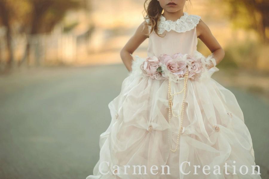 78139c9d7 Dress - Couture Renaissance Flower Girl Dress #2433327 - Weddbook