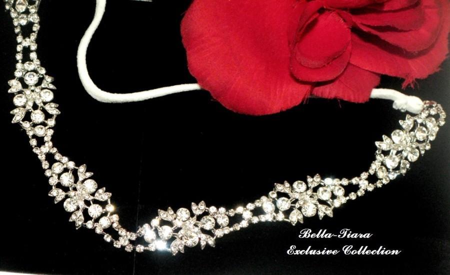 Crystal Wedding Headband 3661d2bc8f1