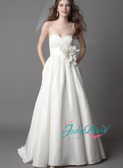 Sweetheart Timeless Simple Ball Gown Wedding Dresses 2433433