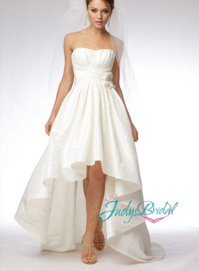 Jwd054 High Low Hem Ball Gown Bridal Dresses 2433436 Weddbook