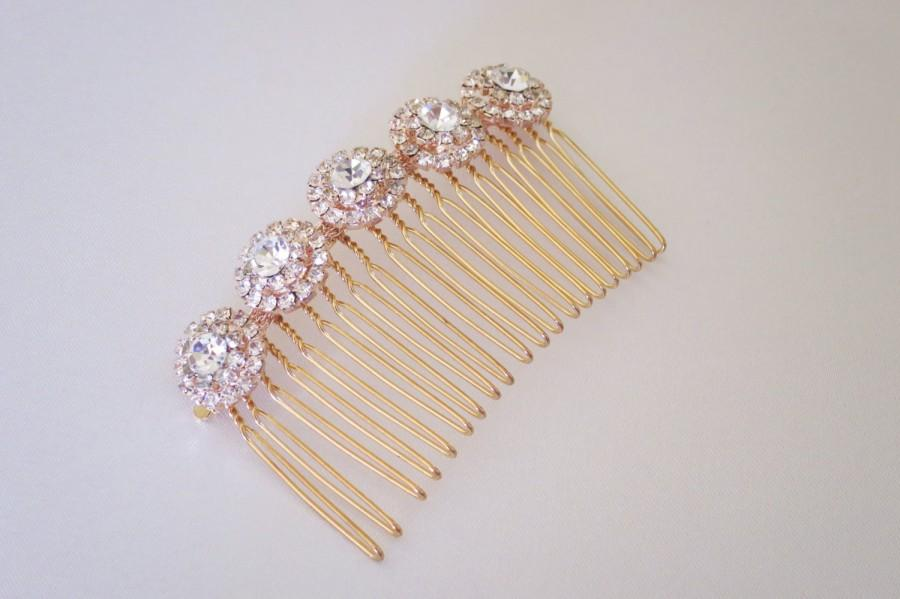 Sale rose gold bridal hair combrhinestone wedding hair combbridal sale rose gold bridal hair combrhinestone wedding hair combbridal hair accessorieswedding accessoriesdecorative hair comb junglespirit