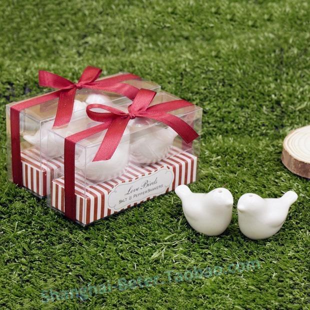 Wedding - 欧式浪漫圣诞节 婚礼小物 创意礼物 爱情鸟调味罐TC031生日礼物
