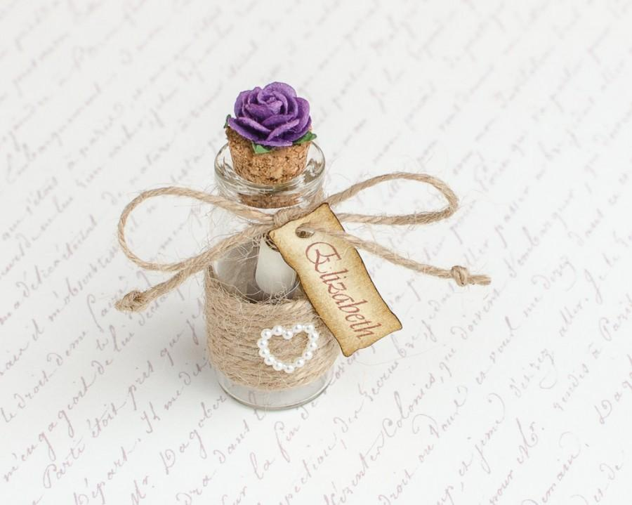 Will You Be My Bridesmaid Message In A Bottle Bridesmaid Proposal