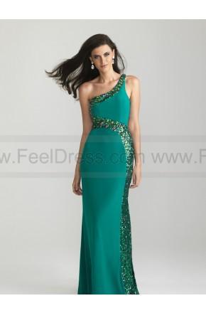 Wedding - New Arrival Sequins Trimmed One Shoulder Prom Dress