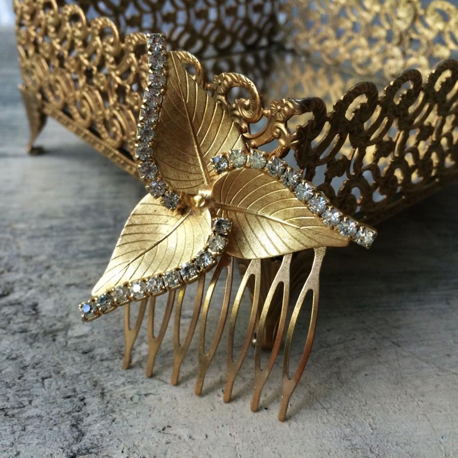 Vintage Bridal Comb 96