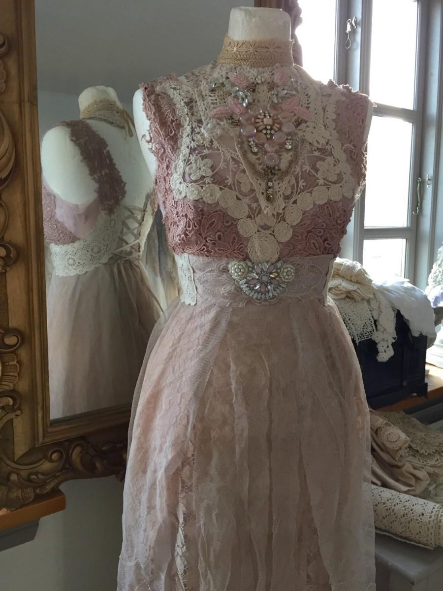 Vintage Inspired Wedding ,rose Colored Fairy Dresses ...
