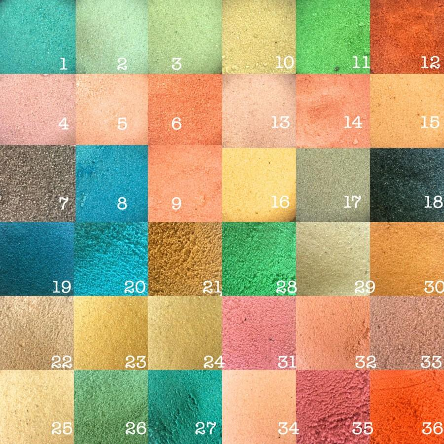 1/2 Lb Bags All Natural Unity Sand (UNLIMITED COLORS) For