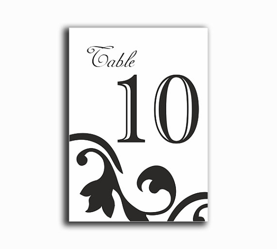 graphic about Diy Printable Table Numbers titled Printable Desk Quantities Do-it-yourself Immediate Down load Sophisticated Wedding ceremony