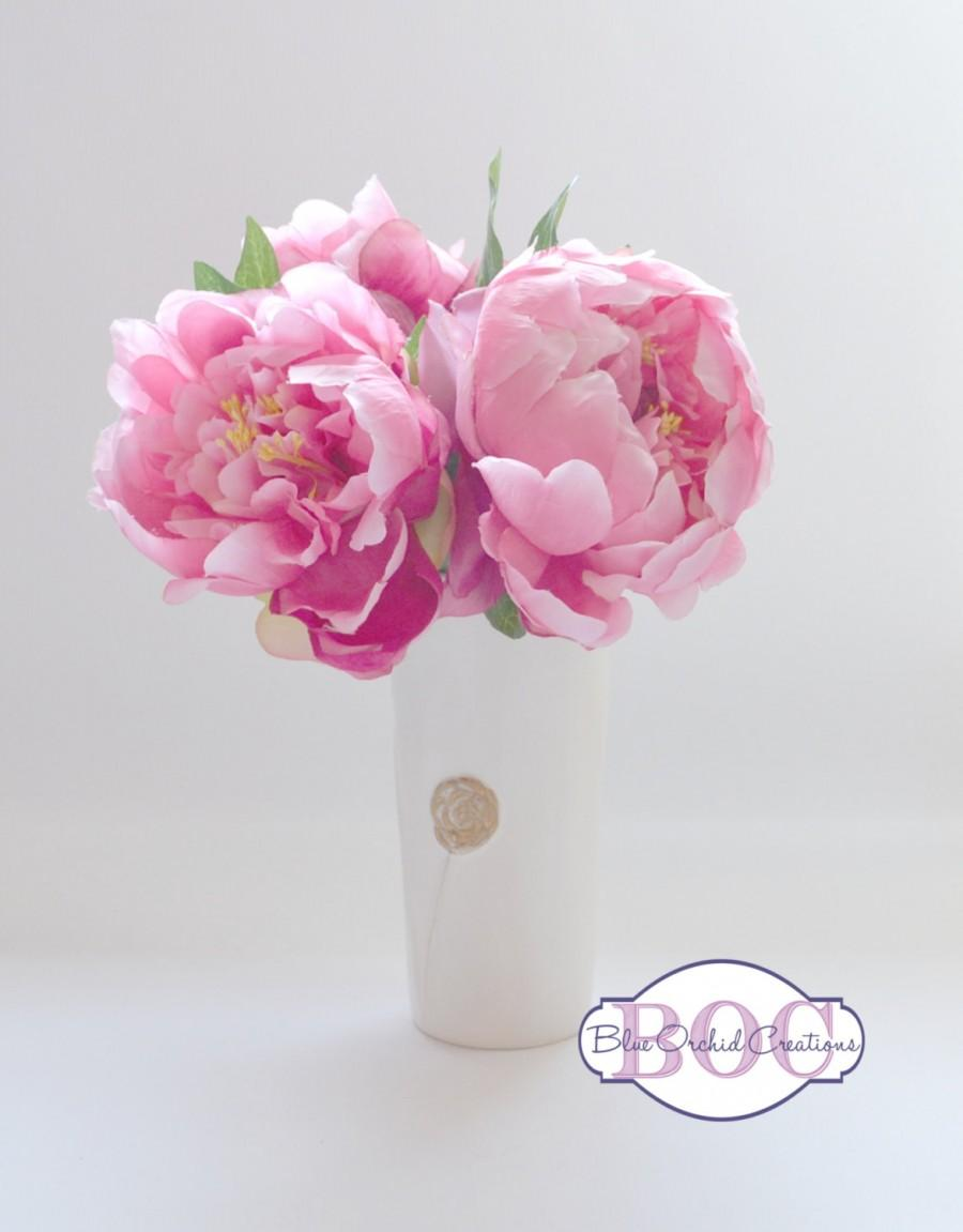Pink peony bouquet small bouquet small peony bouquet flower pink peony bouquet small bouquet small peony bouquet flower arrangement izmirmasajfo