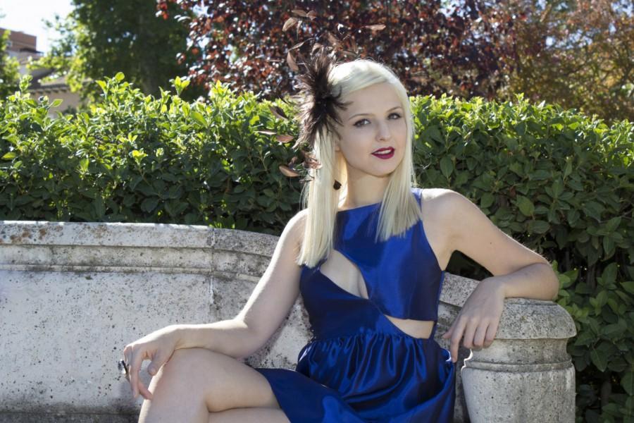 Mariage - Royal blue dress, còctel dress, Wedding Party dress, Short prom dress, Sexy sheath woman Gown's for Holiday, Royal blue bridesmaid dress