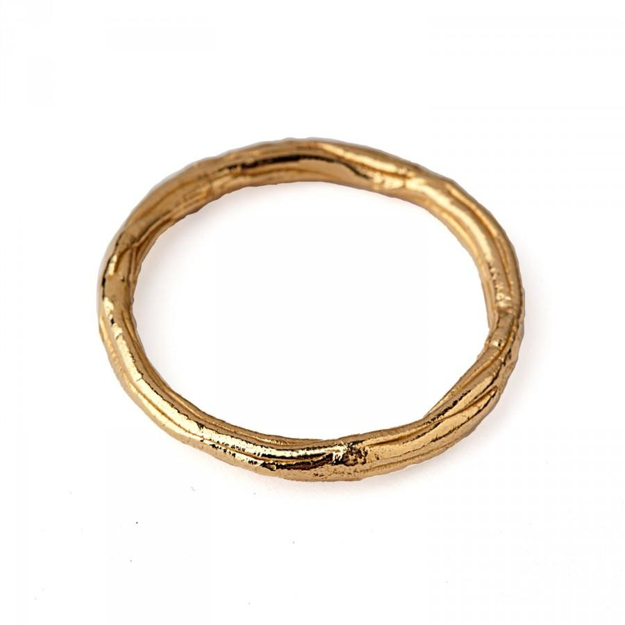 twig ring thin wedding band gold wedding band ring thin