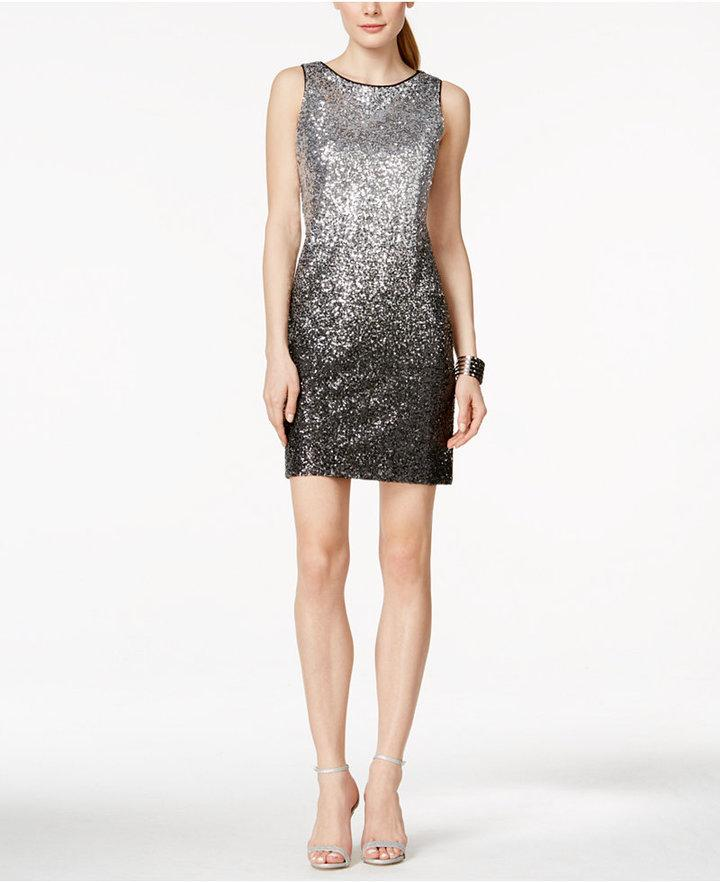 f79c4473 Vince Camuto Sequined Ombré Sheath Dress #2434743 - Weddbook