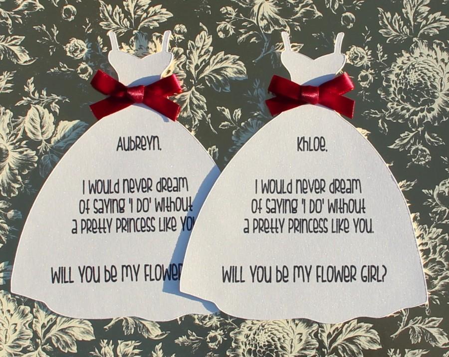 Hochzeit - Will you be my flower girl