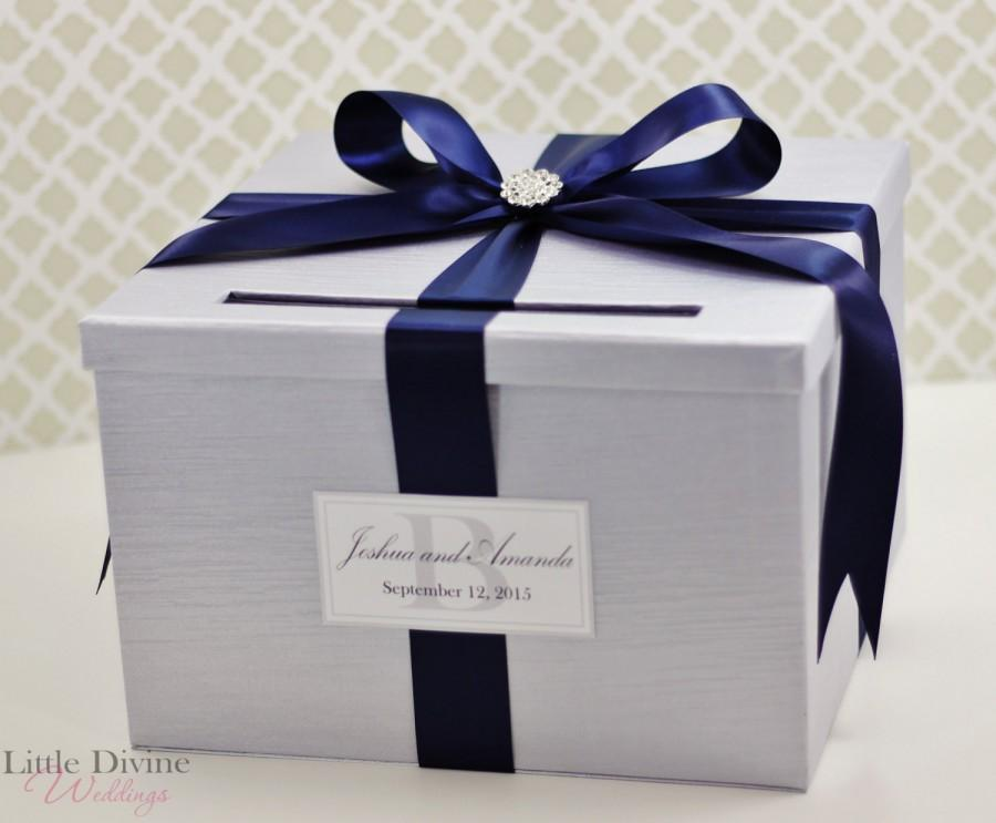 Wedding Card Box Wedding Money Box Gift Card Box Custom - induced.info