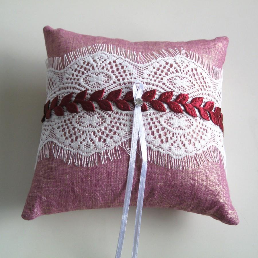 Weddings Ring Bearer Pillow, Baby Shower Pillow, Weddings Cushion ...
