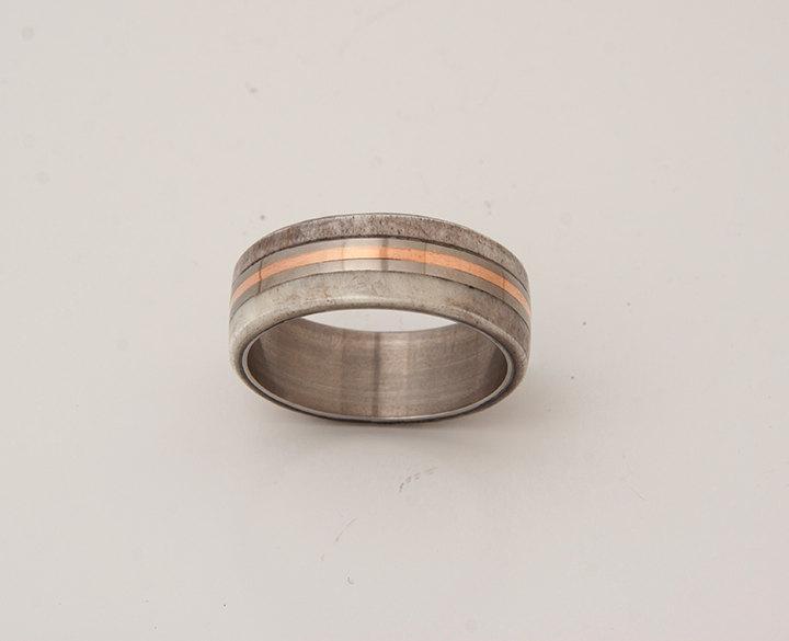 Mariage - antler ring titanium antler ring titanium antler band