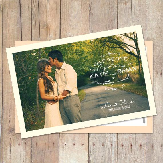 Свадьба - Save-The-Date-Magnet, Save-The-Date-Postcard, Save The Date Card - Early Morning