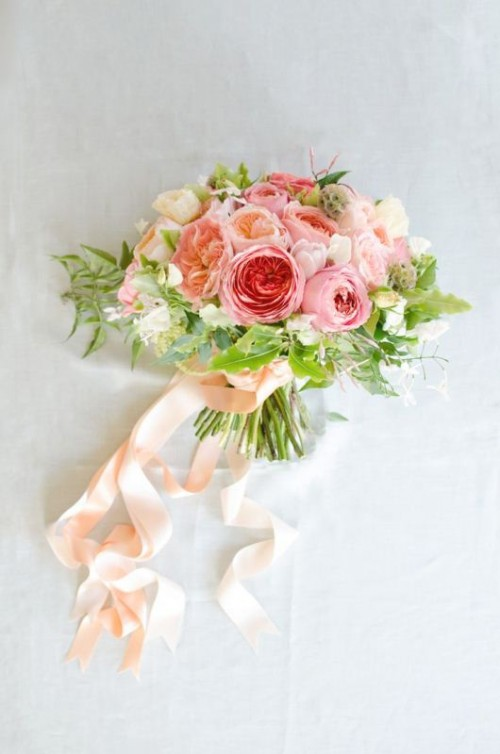 Свадьба - Gorgeous Bridal Bouquets from Garden Rose