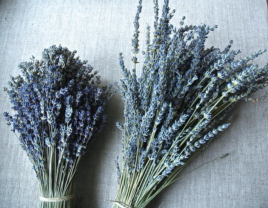 Свадьба - Custom Brides Bouquet A Double Bouquet of English or French Lavender