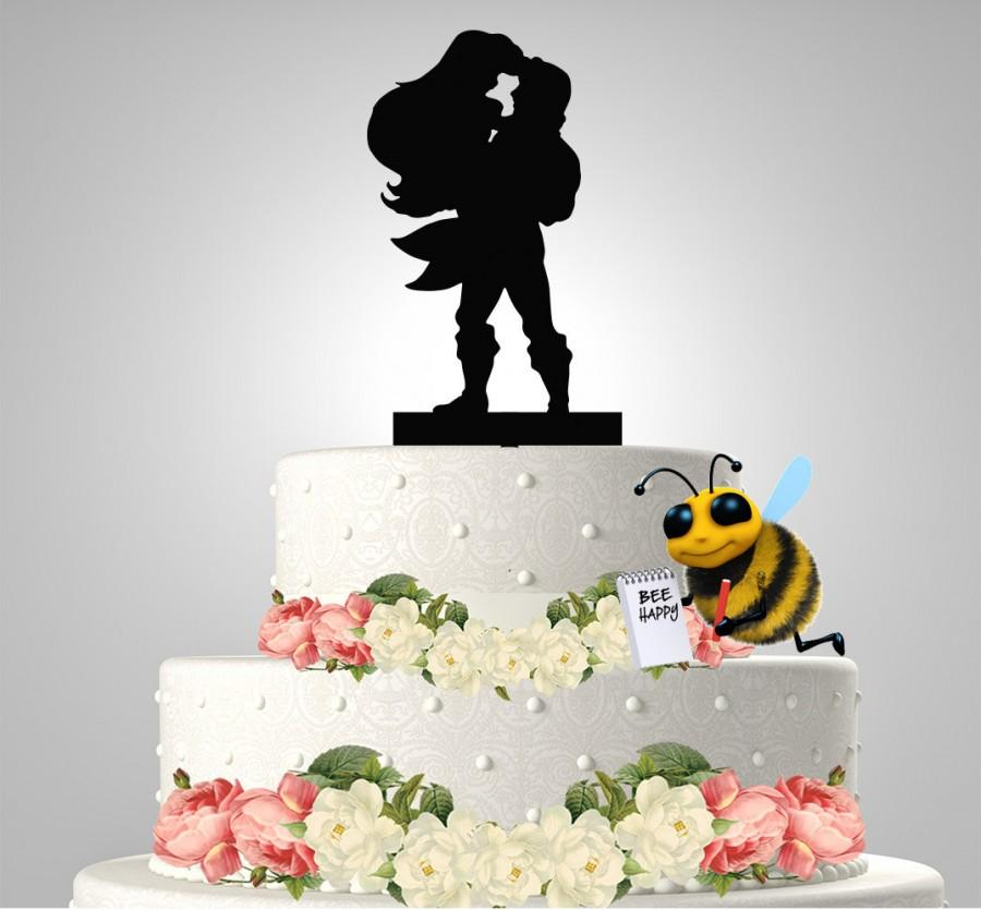 Mariage - Ariel and Eric Cake topper