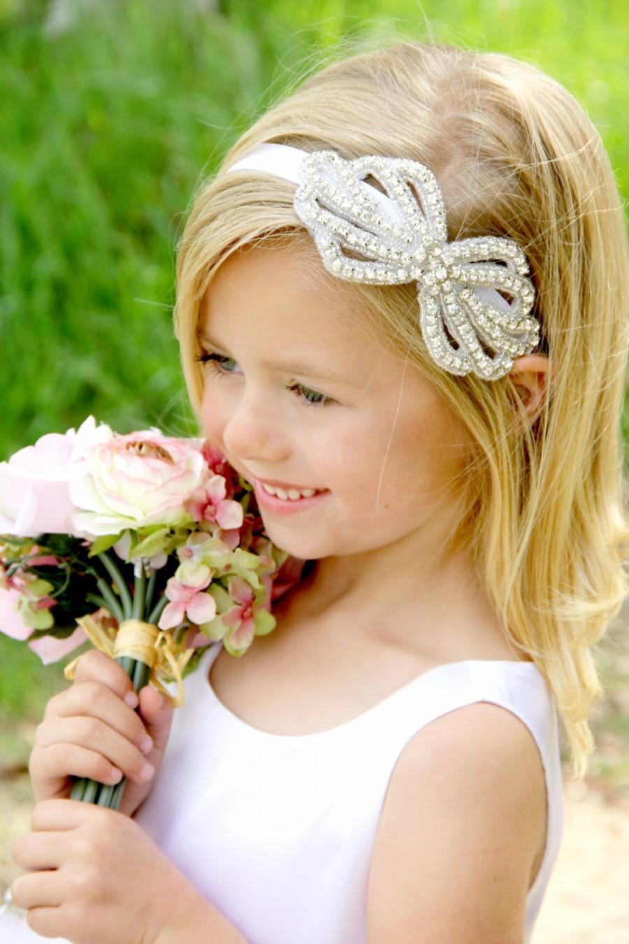 Flower Girl Headband abe548d06ef