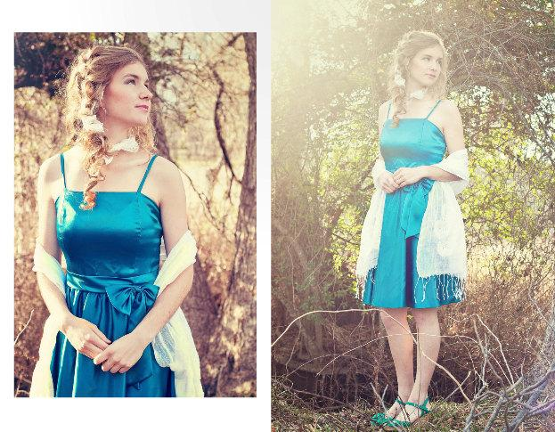 Mariage - Teal Blue Party Dress.. Elegant Vintage Inspired Prom Bridesmaid Wedding Cocktail Dinner Dancing Evening Dress Romantic Princess Romance