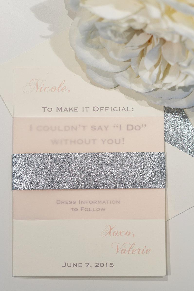 bridesmaid invitations will you be my bridesmaid card 2436093