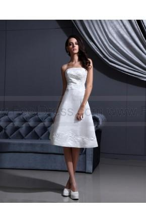 Wedding - Good Quality Applique Ivory Bridal Wedding Dress