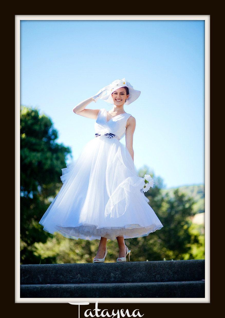Mariage - 1950s Wedding Dress  'TATANYA'