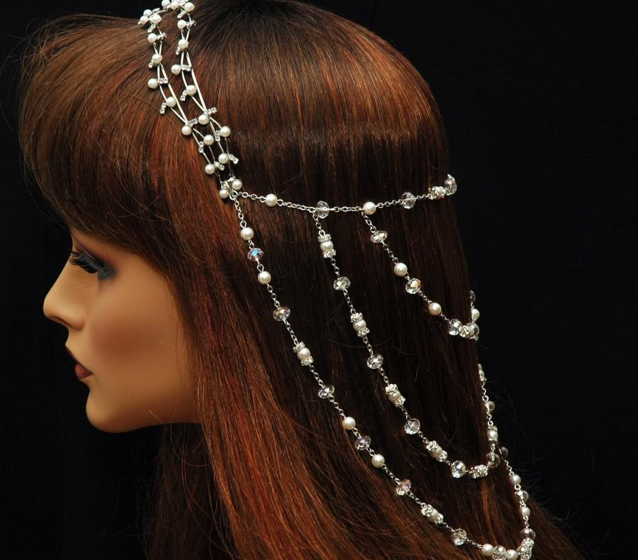 Wedding Pearl Headpiece b334d03601f