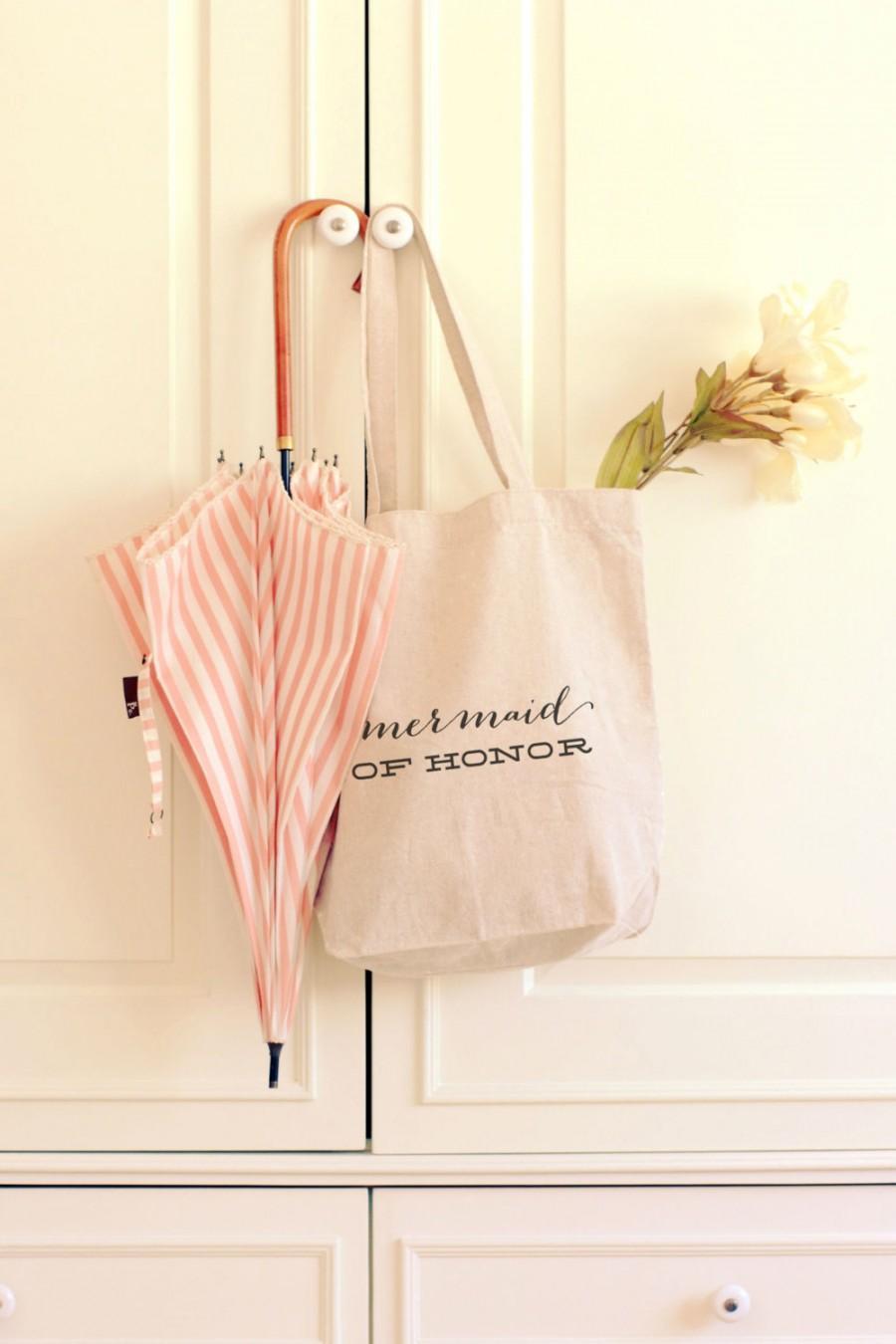 Свадьба - Keepsake Personalized Maid of Honor Tote Bag, Beach Wedding, Bridesmaid Gift, Maid of Honor Gift, gift for Her, Personalized Tote BagPart