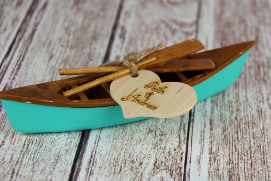 Mariage - Canoe Cake Topper, Canoe Cake, Canoe Wedding