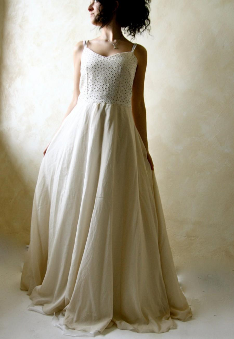 Wedding dress rustic wedding dress wedding gown ball for Boho country wedding dress