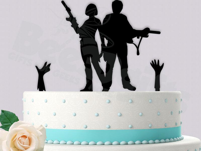 Glenn And Maggie Cake Topper The Walking Dead 2437656 Weddbook