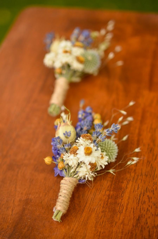 Свадьба - Purple wildflowers boutonniere, spring boutonniere, lavender boutonniere,  spring wedding, summer wedding, summer bouutonniere, wildflowers
