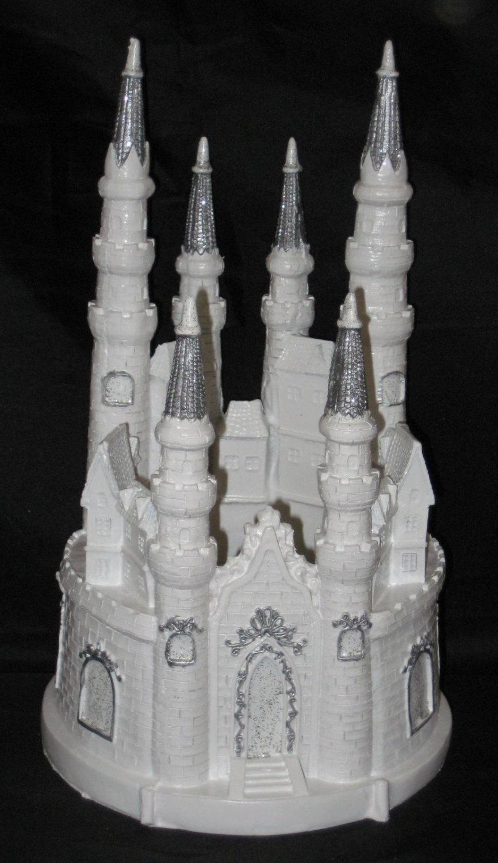 Lighted Cinderella Castle Fairy Tale Cake Topper Cake Top ...