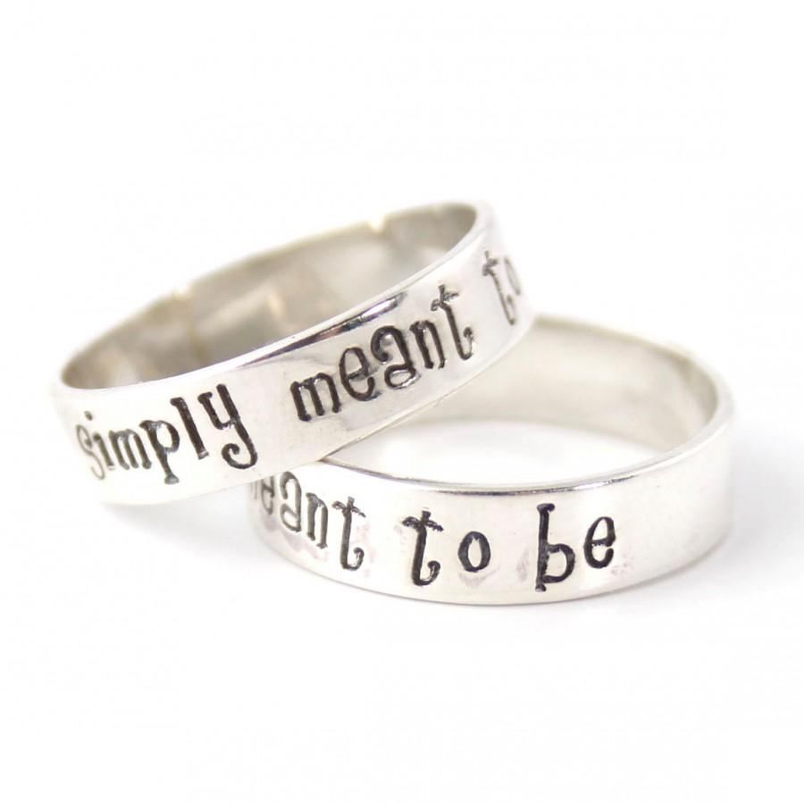 nightmare before christmas rings - jack & sally wedding bands