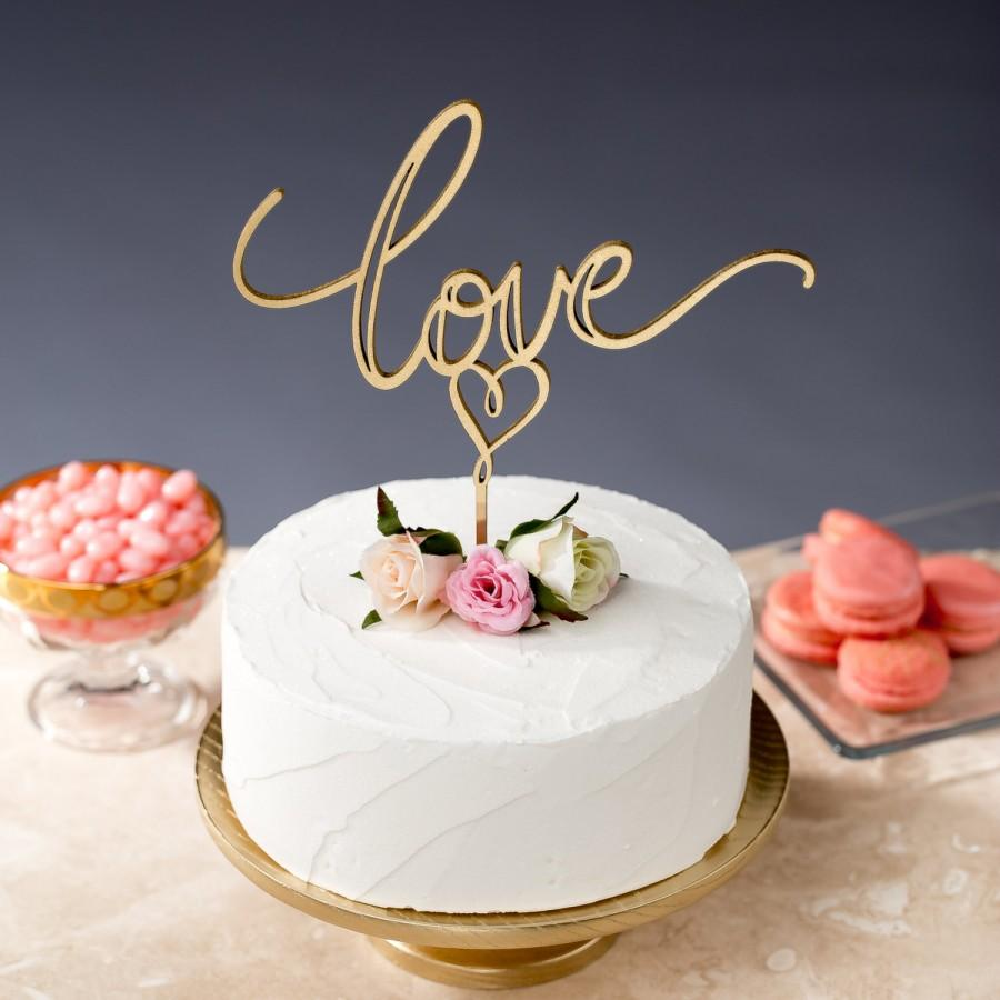 Wedding - Custom Listing for Alyce Vinnicombe- Love Cake Topper - Daydream Collection