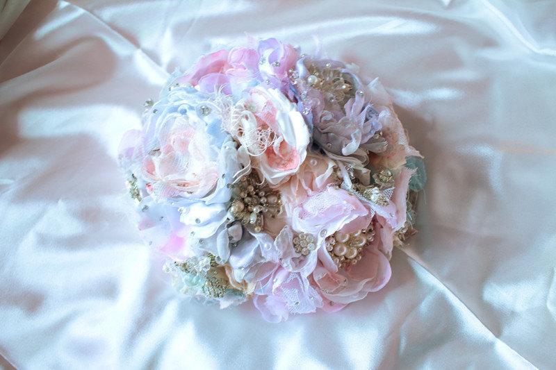 Mariage - Wedding-party supplies-cake topper- Party Décor-brooch bouquet-bridal bouquet-wedding bouquet