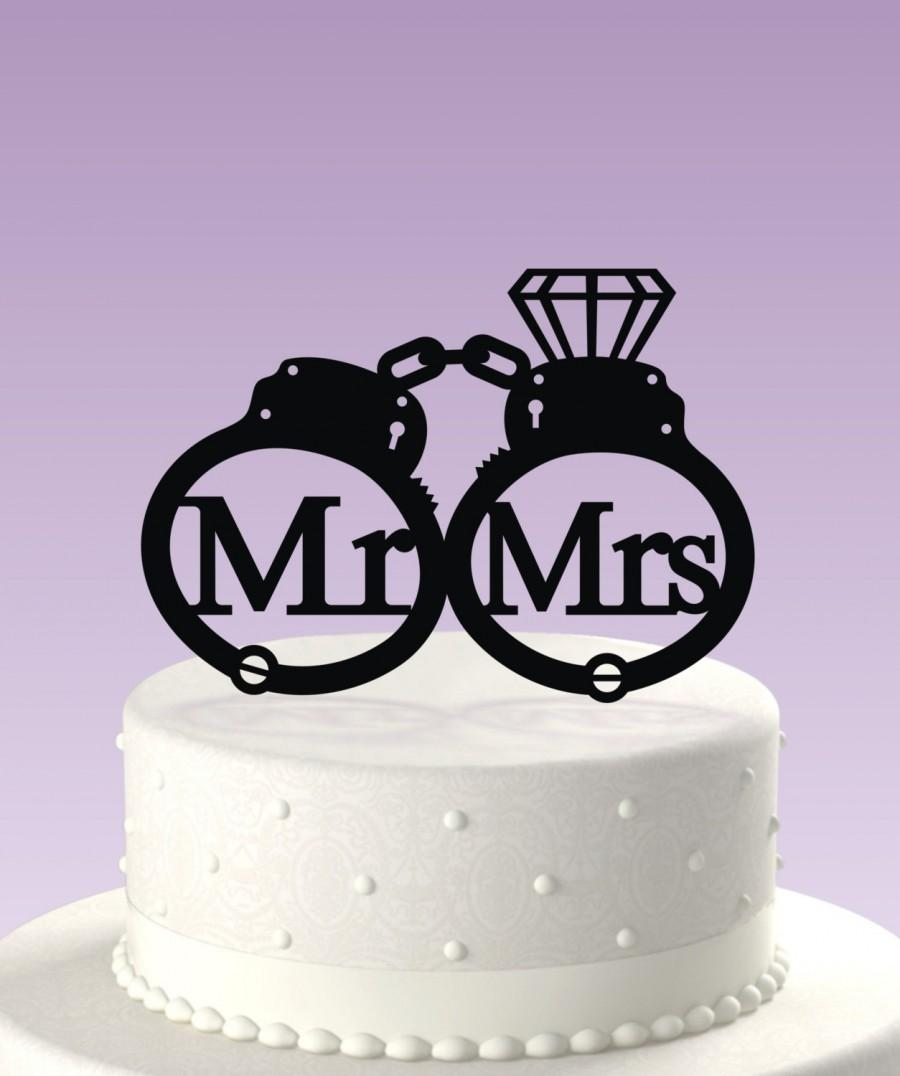 Mariage - Fun Cake Topper