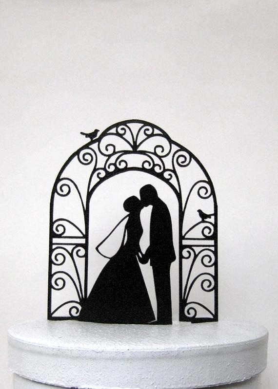 Wedding cake topper bride and groom wedding silhouette 2437772 wedding cake topper bride and groom wedding silhouette junglespirit Gallery