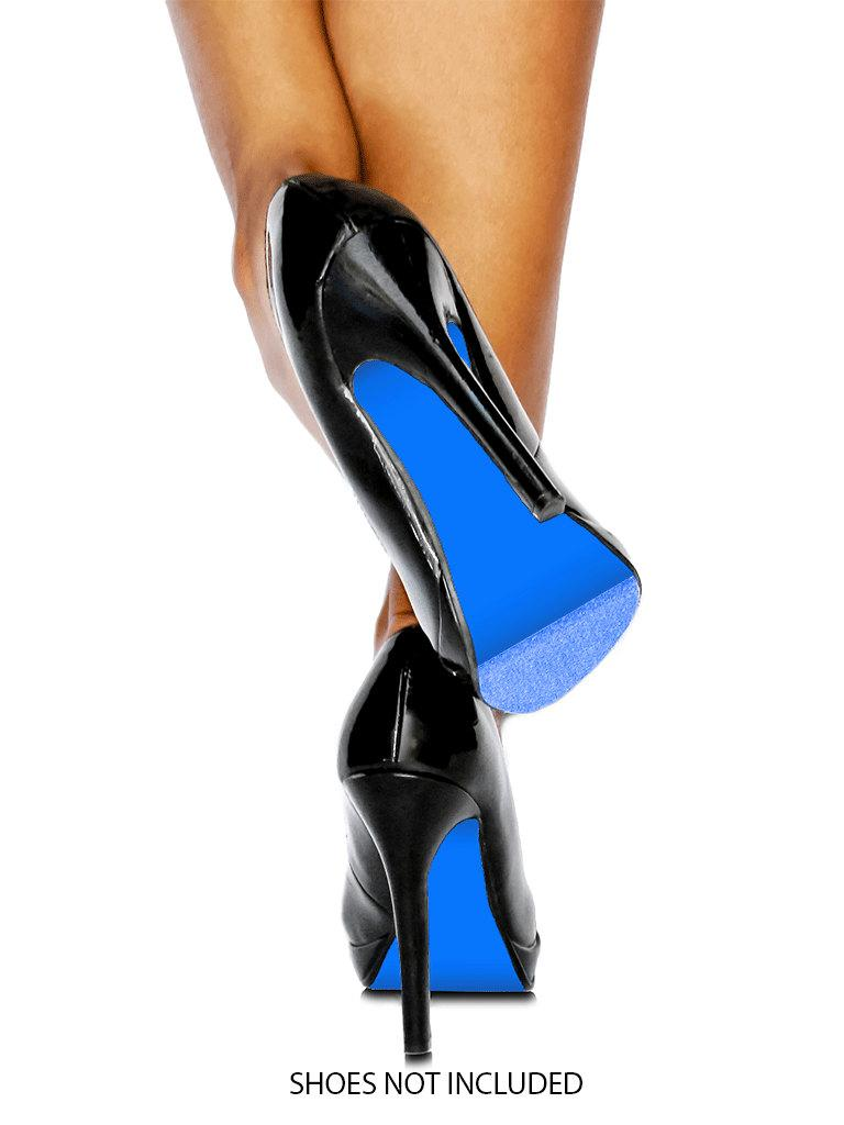 Mariage - Blue Colored Shoe Sole Kit - DIY Blue Shoe Soles - Slip Resistant Shoe Bottom Cover for Women's Heels - 3 Different Blues