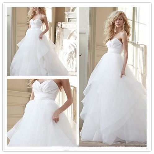 ffbc4aca845 Cheap Hayley Paige Organza Wedding Dresses 2015 Sexy Corset Backless Plus  Size Modest Cascading Ruffles Princess Bridal Gowns Custom New Online with  ...