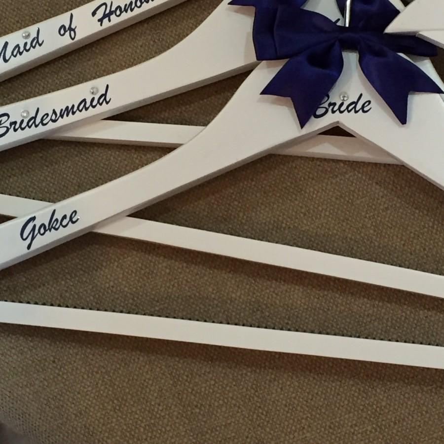 Wedding Hanger Personalised Bridal Party Hangers Prom Christening Naming Ceremony Special Occasion
