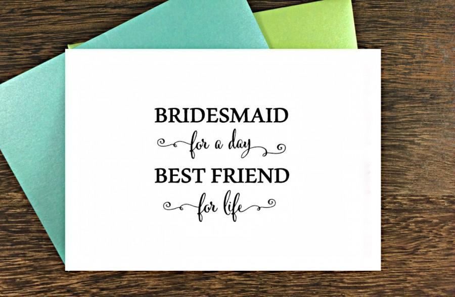 Cute Bridesmaid Proposal Cards. MAid Of Honor Proposal ...