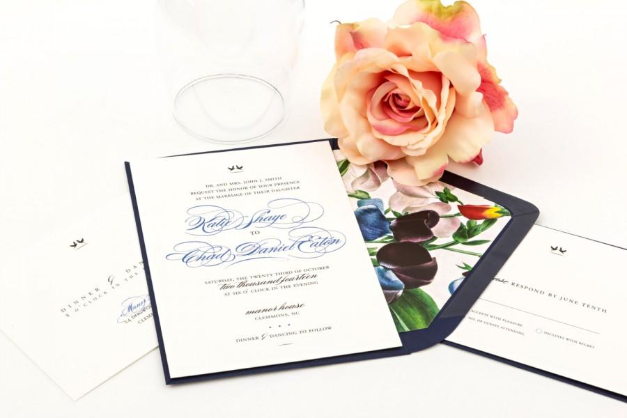 Hochzeit - Wedding Invitations - The Lovebird Suite, Purchase this deposit to get started