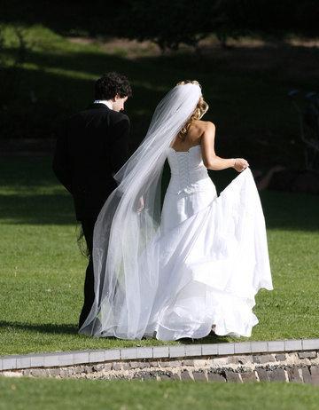 Mariage - Two tier floor length long wedding veil white, diamond or ivory